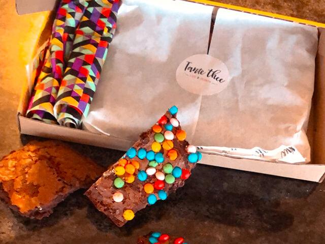 Brownie brievenbus verrassing