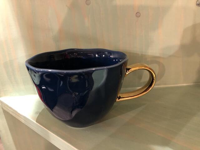 Mok donkerblauw 350 ml